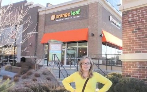 Orange Leaf Takes Over Shadow Lake