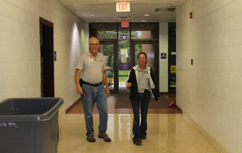 Head custodian retires; day shift leader to take over
