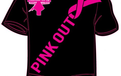 Athletic programs wear pink, support Breast Cancer Awareness month.