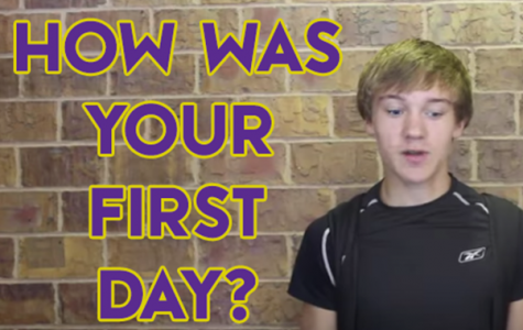 Video Vox Pop: Describe Your First Day of School