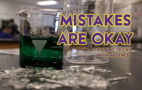 Tips and Tricks with Patience: Mistakes are okay