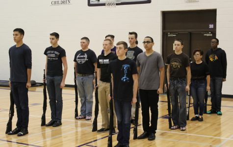 Drill team sets sights on successful future