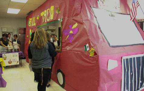 Culinary Arts Club brings food truck atmosphere to staff