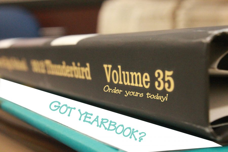 Get your yearbook today! Bring $75 to the journalism room 426.  Photo by Cameron Wathlor.