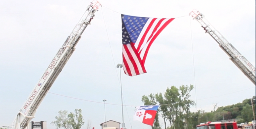 Bellevue honors 9/11 victims with memorial