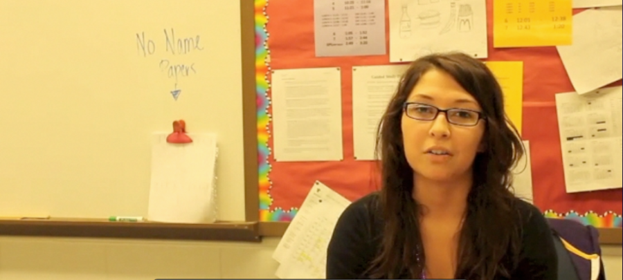 Ms.+Esparza+discusses+why+she+became+a+teacher