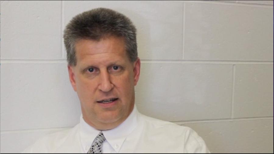 Mr. Rohlfs explains the recent flood damage