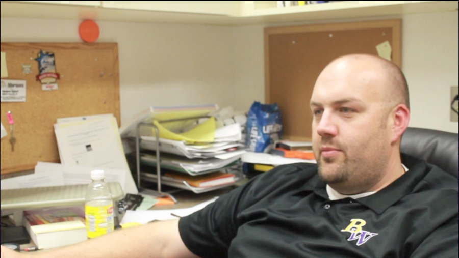 Mr. Eckhoff talks about his new job as assistant band director