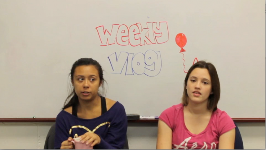 Ally+and+Aimee+talk+about+recent+band+success+in+this+week%27s+vlog