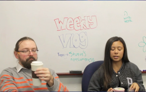 Ally talks with Mr. Stueve about Halloween in this week's vlog