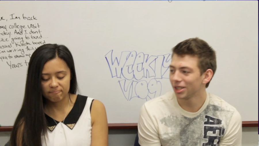 Ally and Michael talk about their thanksgivings in this week's Vlog