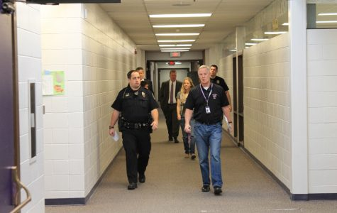 Bellevue West practices lockdown procedures