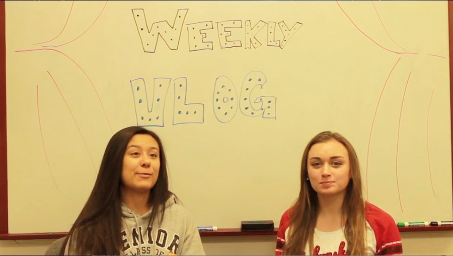 Ally and Morgan discuss school events in this week's vlog