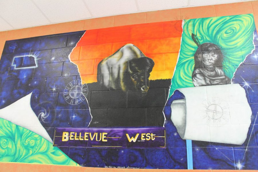 Bellevue+West+alumni+shares+story+of+artwork