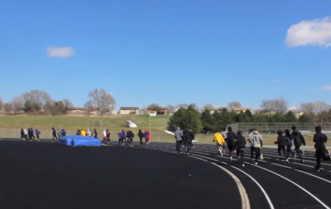 Different events give variety to students in track