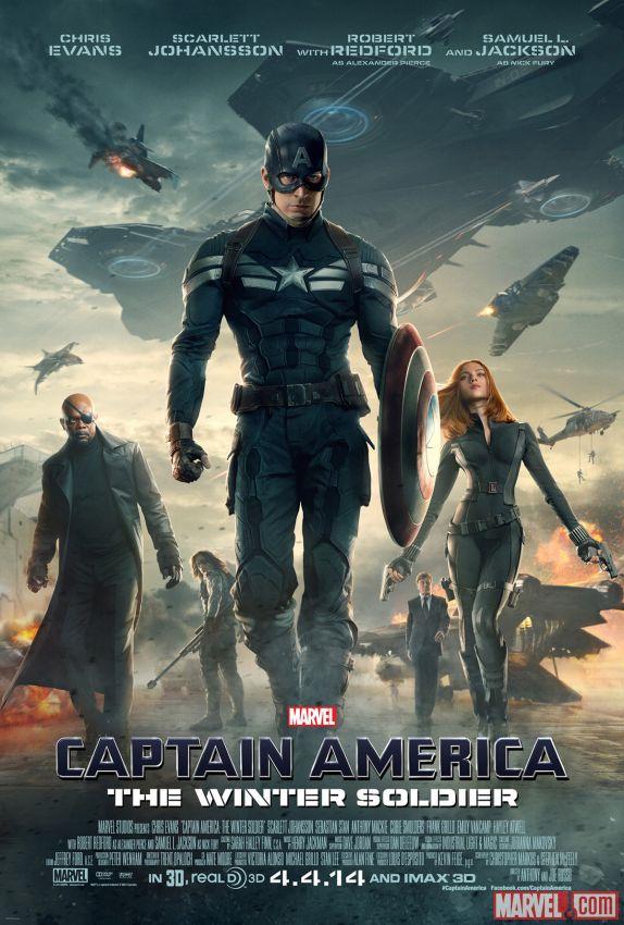 Captain America 2 delivers suspense
