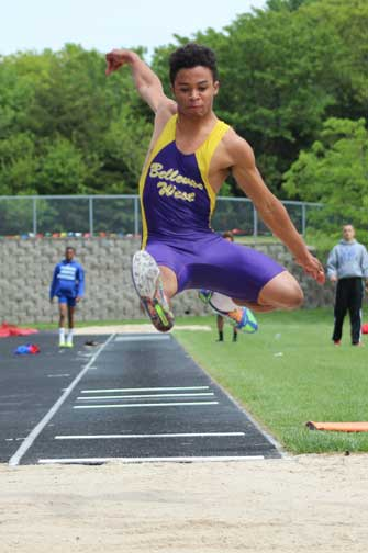 T-Birds qualify for State Track and Field