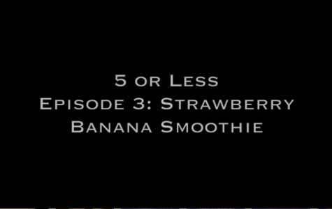 5 or Less: Strawberry banana smoothie