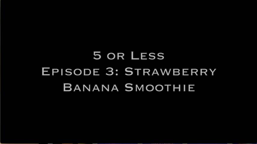 5+or+Less%3A+Strawberry+banana+smoothie