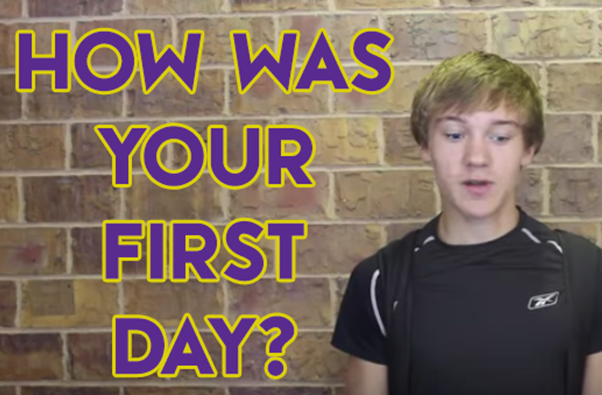 Video+Vox+Pop%3A+Describe+Your+First+Day+of+School