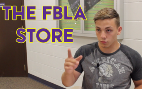 Video: The FBLA store's new home is more than a few tables