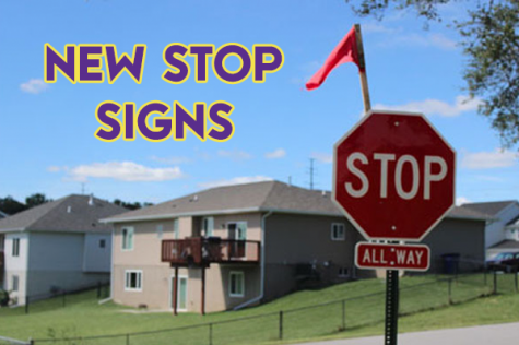 Sarpy county installs stop signs at 13th and Kasper