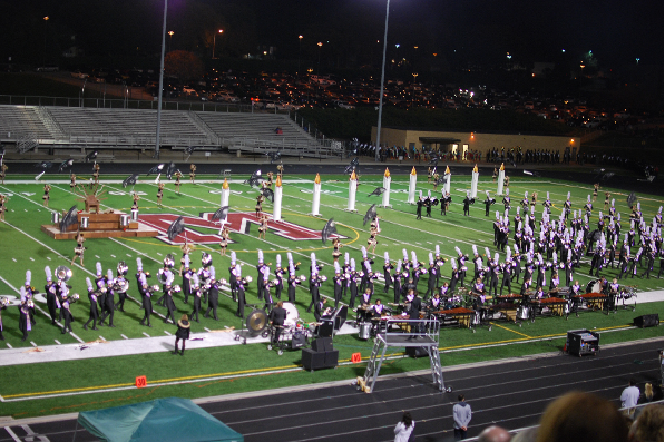 On Oct. 24, the marching band performed in the Nebraska State Bandmasters Association competition. The band placed first.