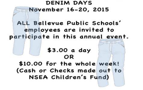 Denim for Dollars: Teachers raise funds for the NSEA