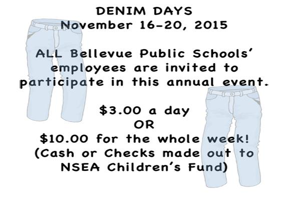 Denim for Dollars: Teachers raise funds for the NSEA