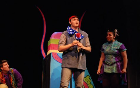 "Students prepare ""Seussical: The Musical"""