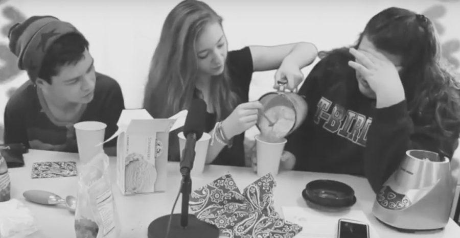 Video: Sassy Cookin S1:E6: Katie Ryckman, Jenna Hammond and Jacob Blaha make strawberry shakes... or smoothies... for Valentine's Day