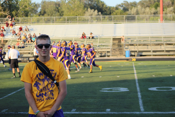 From the sidelines: student trainers help athletes