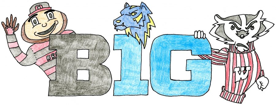 Battle+for+the+Big+Ten%3A+The+Thunderbeat+sports+section+weighs+in