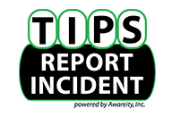 TIPS Report Incident introduced to BPS