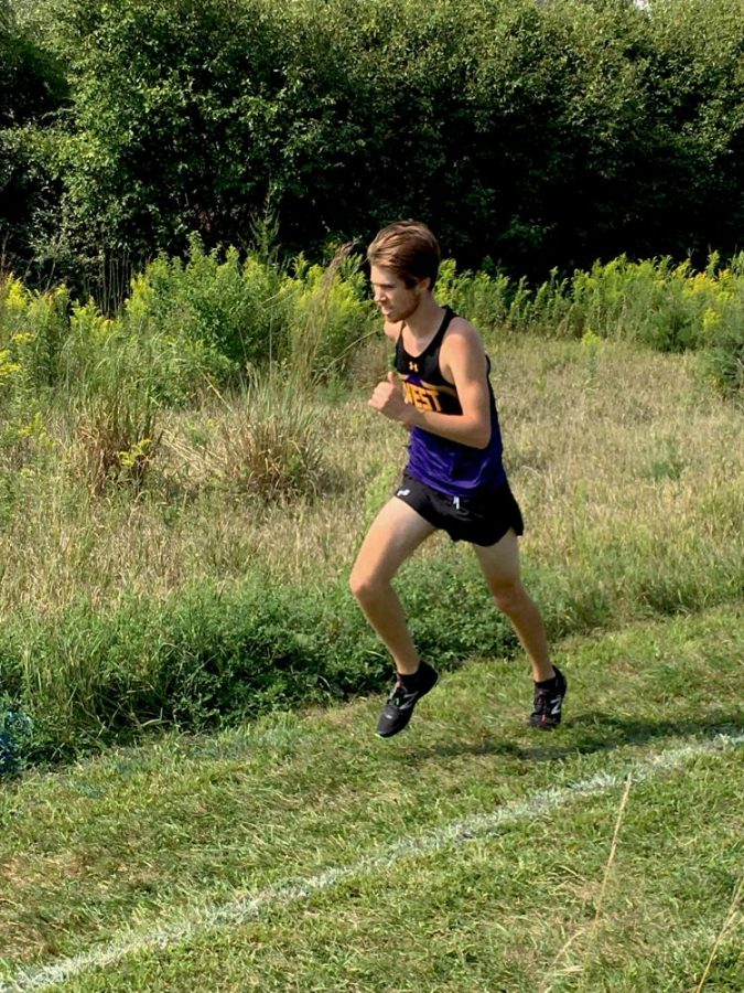 Williams displays endurance and leadership during cross country