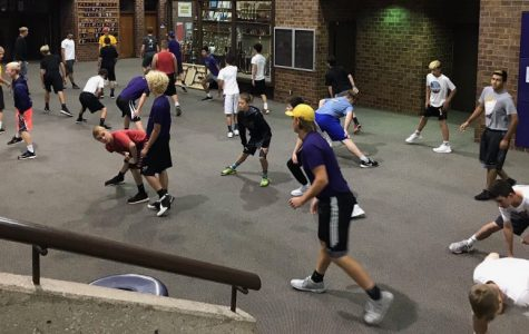 Student athletes display strong work ethic during off-season