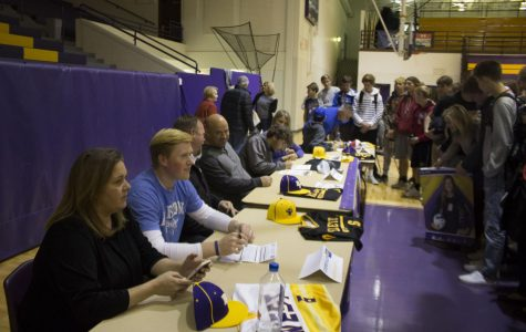 T-Bird athletes sign National Letters of Intent