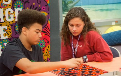 NHS students tutor Mission students for volunteer hours