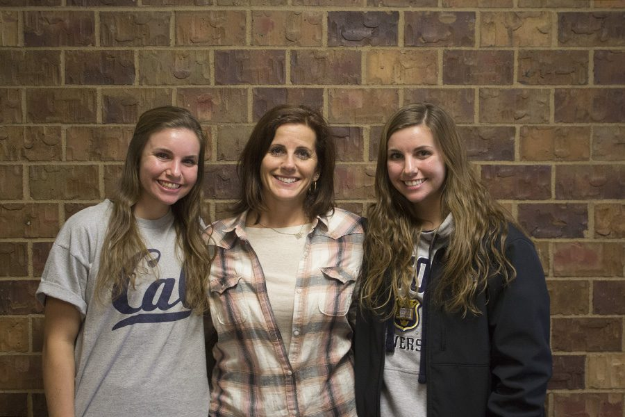 Spanish teacher Machaella Fogarty has two daughters attending Bellevue West, seniors Sydney and Sara Fogarty.