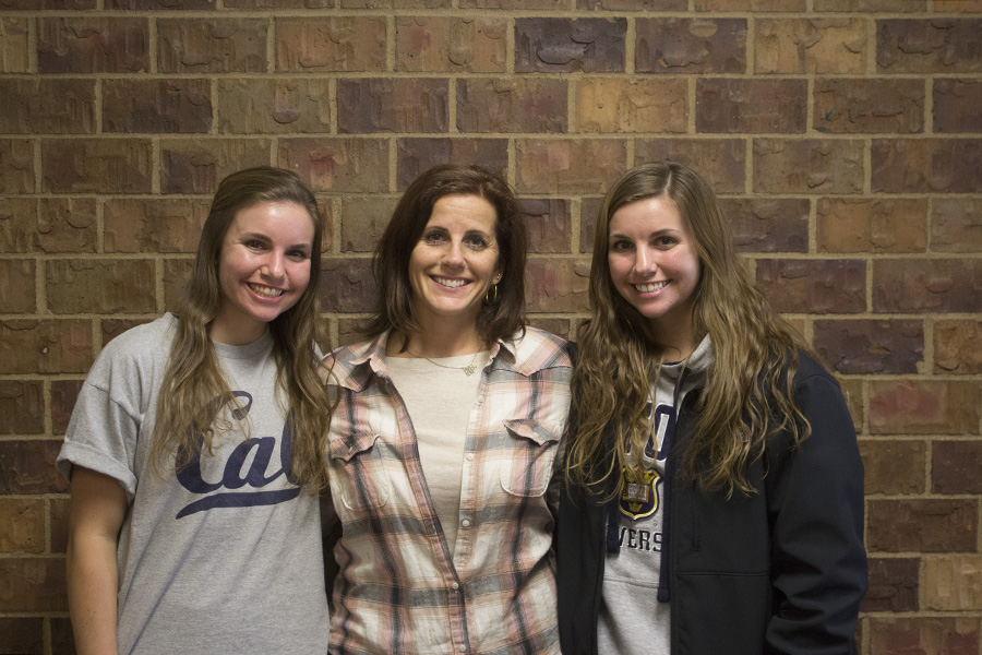 Spanish teacher Machaella Fogarty has two daughters attending Bellevue West, seniors Sydney and Sara Fogarty.