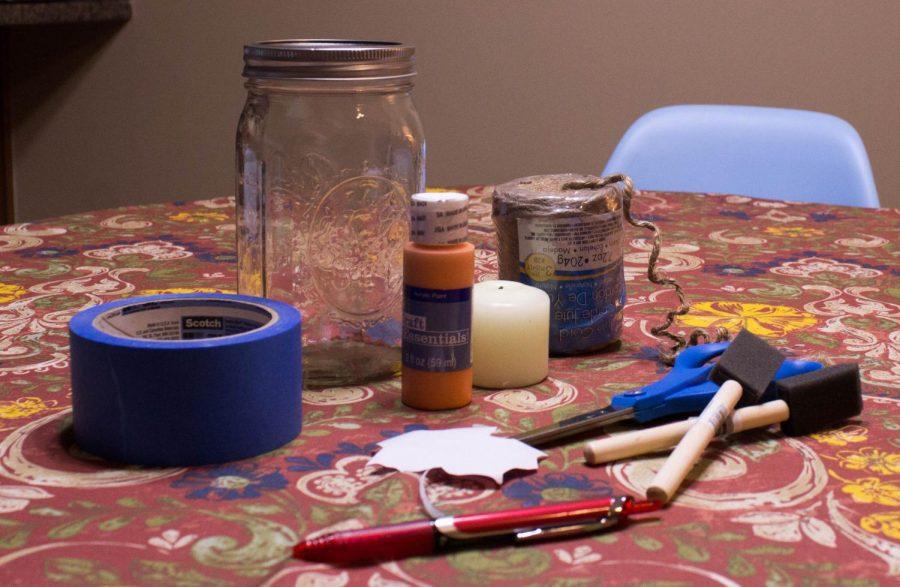 Mason+Jar+Luminary+Materials