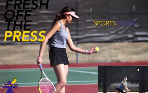 Girls' Tennis Recap: T-Birds start season with a win over Bellevue East