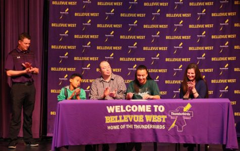 College-bound athletes sign letters of intent