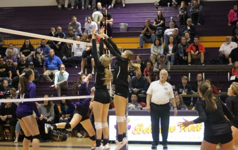 West volleyball beats crosstown rival on Senior Night