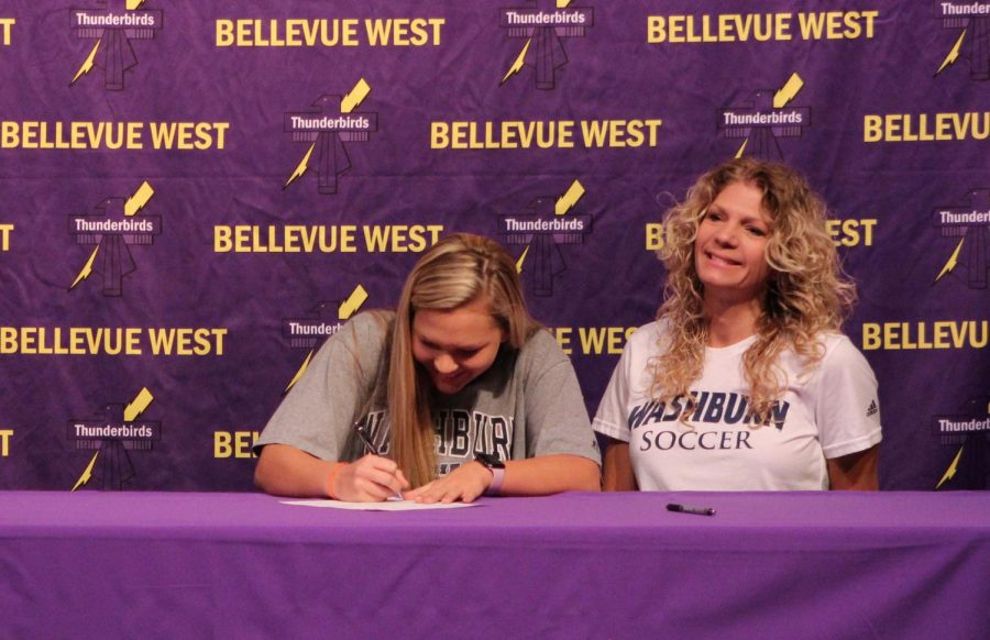 Athletes sign collegiate letters of intent