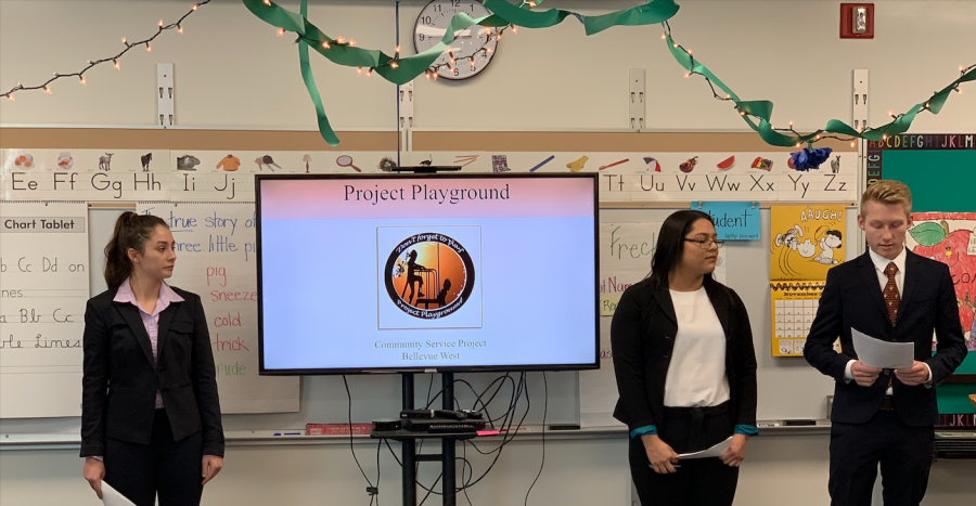 Project Playground Leaders share vision with community and PenFed Executives