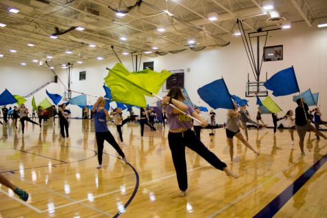 West color guard takes new approach this winter