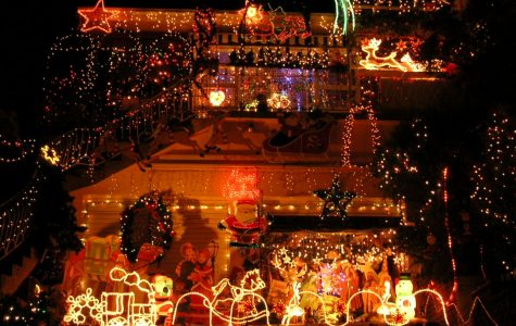 Elissa, Charlie, CJ, and Quintin rate and review Metro area Christmas lights