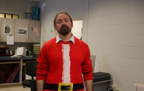 Bellevue West staff members share some of their favorite ugly Christmas sweaters