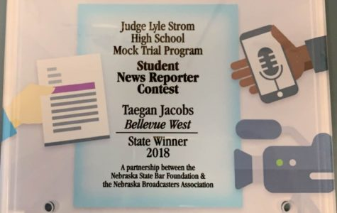 The Thunderbeat reporter earns 1st place in reporting at State Mock Trial